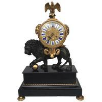 Empire Lion Clock
