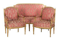 3-piece Louis XVI Style Salon Set
