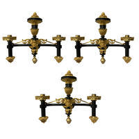 3 Regency Period Colza Oil Sconces