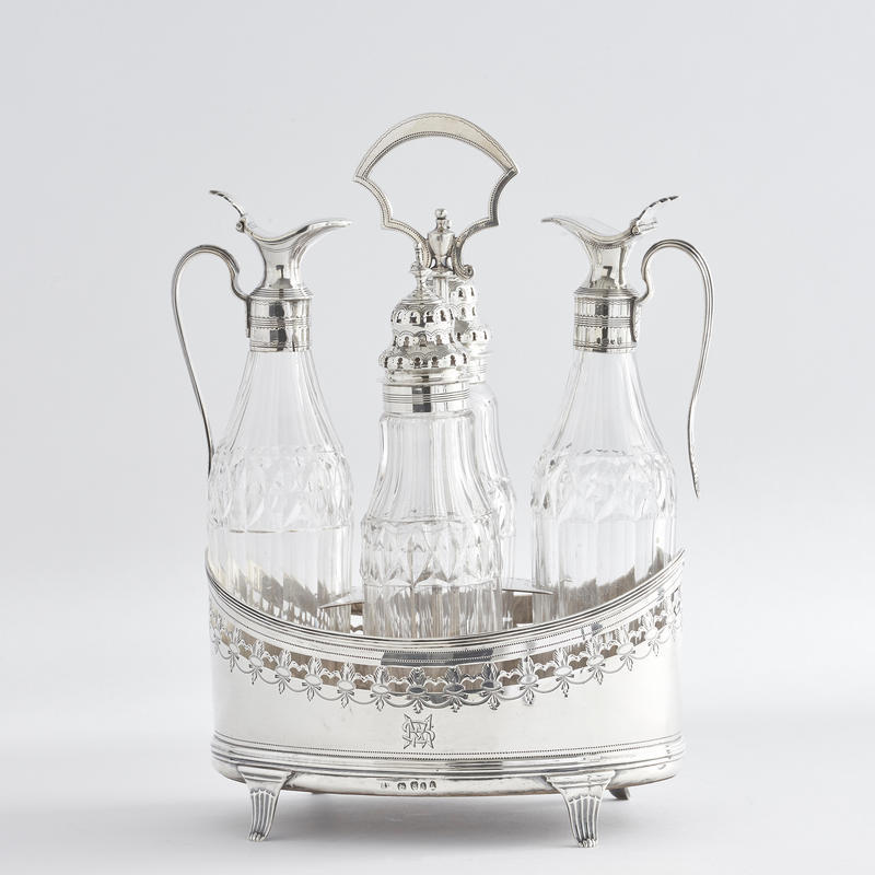 George III Period Cruet Set