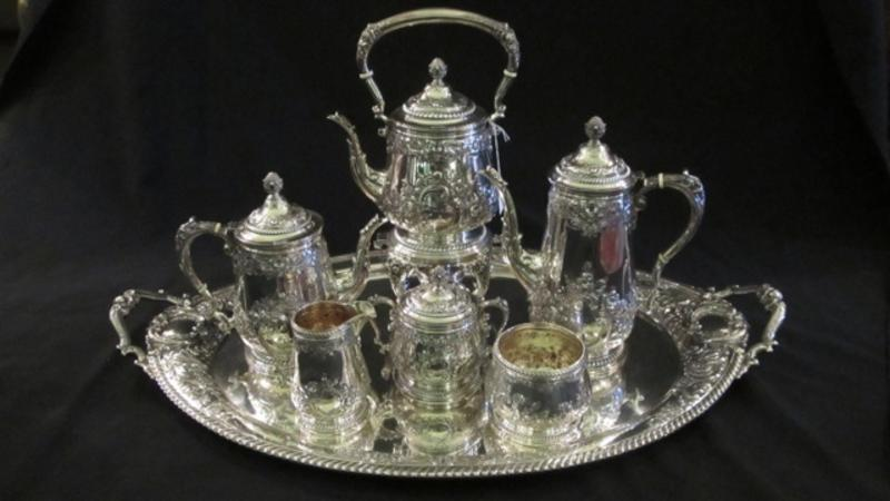Sterling Silver Tea and Coffee Service