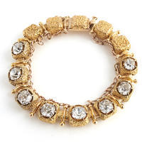 Victorian Diamond & Gold Bracelet