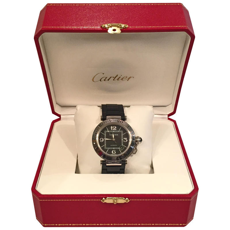Cartier Mens Pasha Watch
