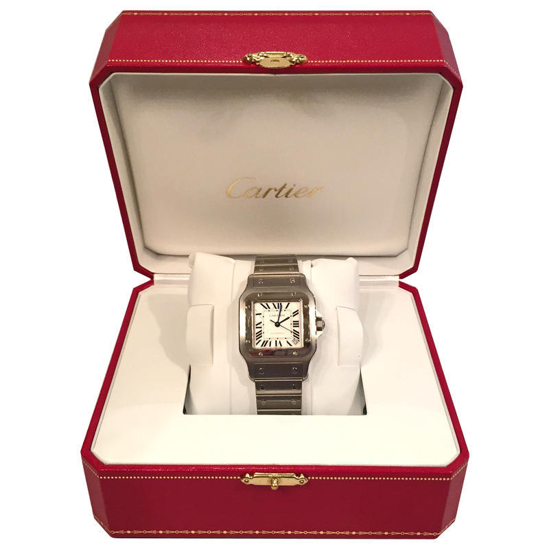 Cartier Mens Santos Watch