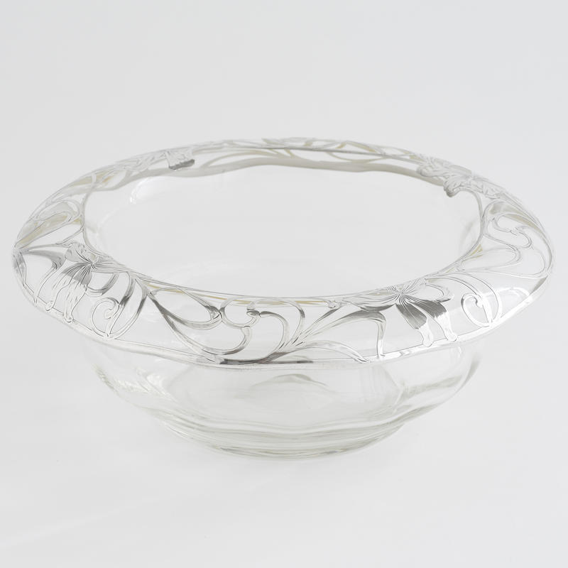 Silver Overlay Bowl