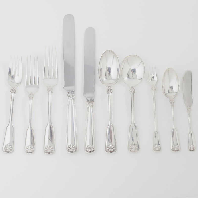 """Shell & Thread"" Flatware Service for 6"