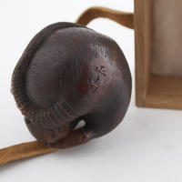 Rare Signed Mouse Netsuke