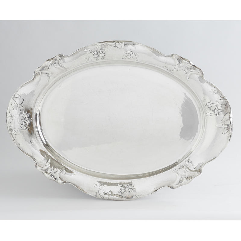 "Art Nouveau ""Martel�"" Serving Tray"