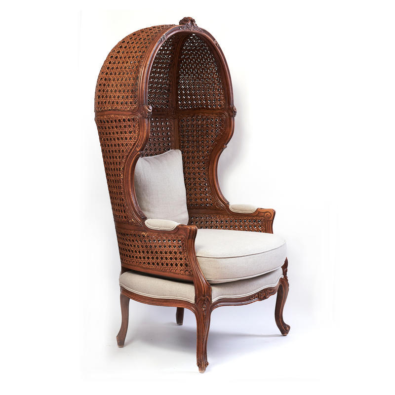 French Provincial Canopy Chair