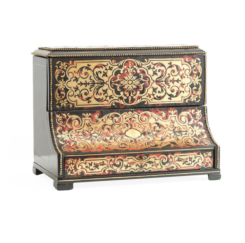 Boulle Inlay Letter Box