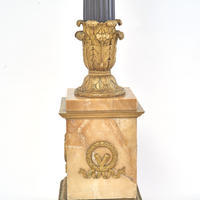 Pair of Monumental Empire Candelabra