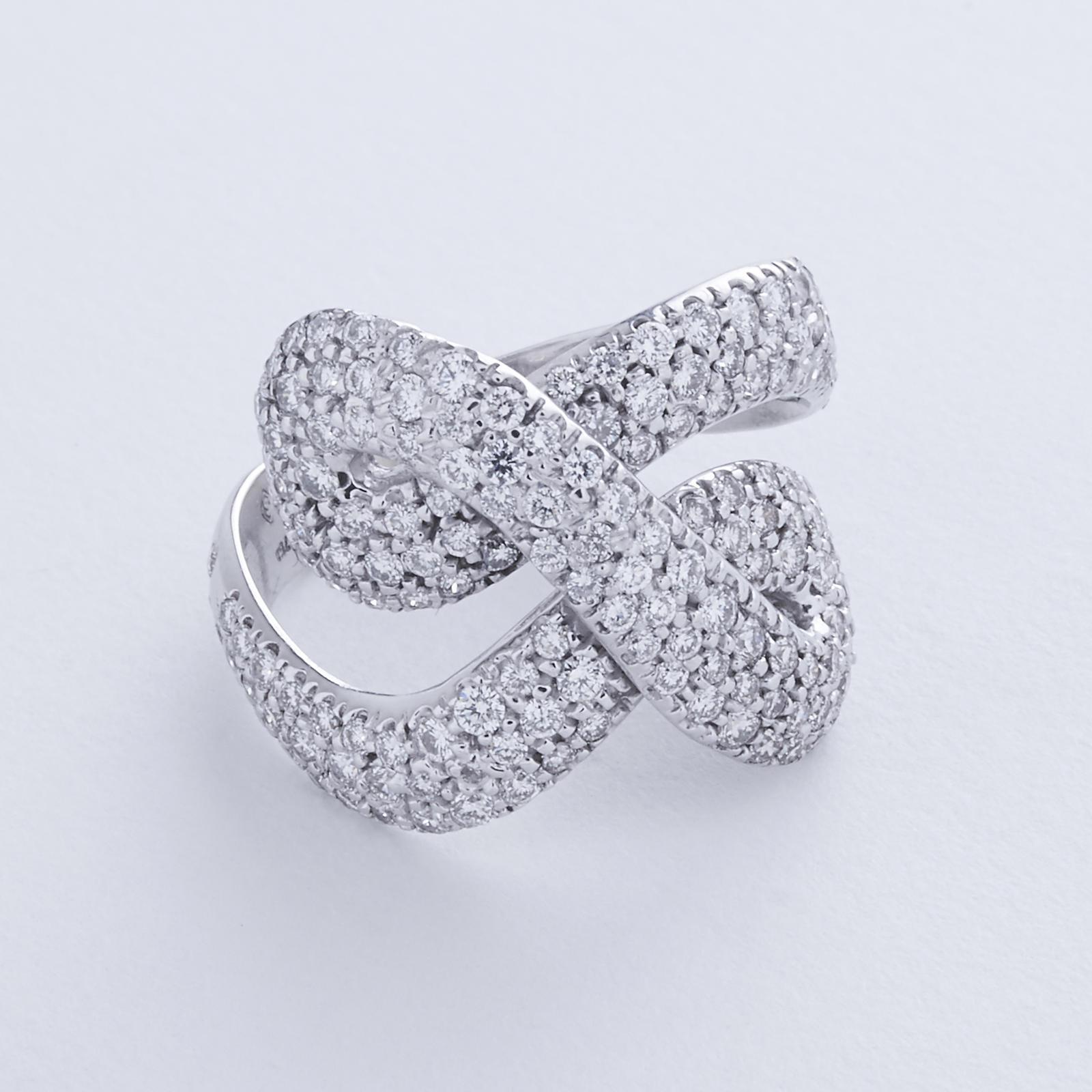 """H. Stern """"Celtic Dunes"""" Diamond Ring - Jewelry ..."""