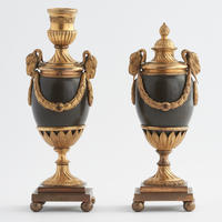 Pair of George III Period Candle Vases