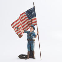 Cold-painted Bronze American Sailor