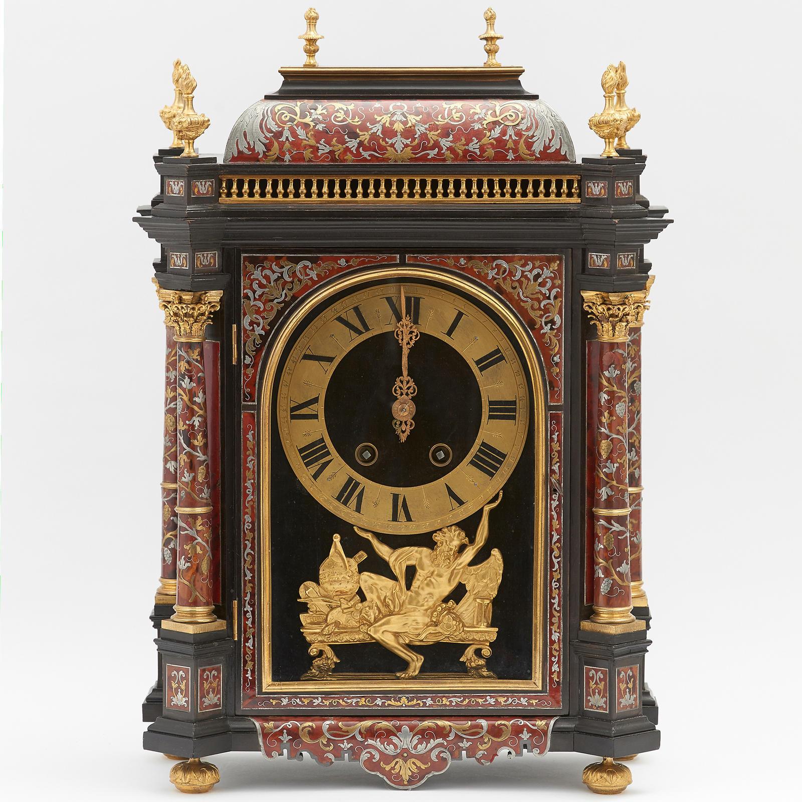 Louis Xiv Style Boulle Clock