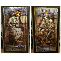 Frey & Odin Stained Glass Windows