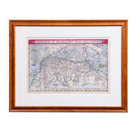 Ortelius Map of North Africa