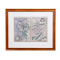 Ortellius Maps of Calais & Vermandois