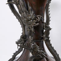 Figural Dragon Vessel