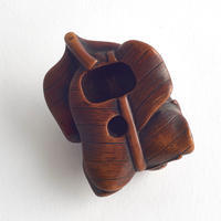 "Naturalistic ""peaches"" Netsuke"