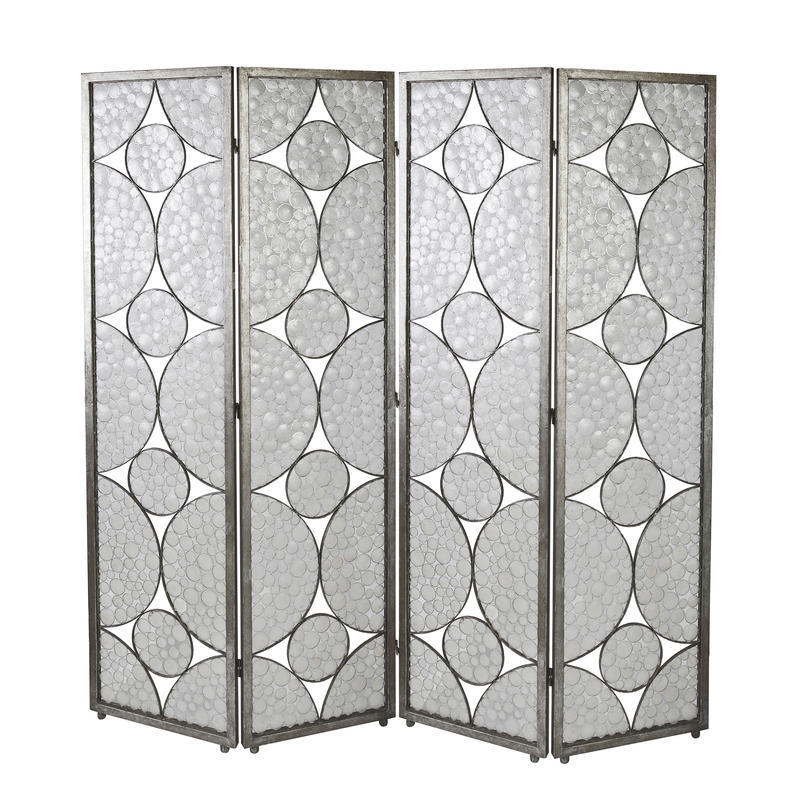 Oyster Shell Folding Screen