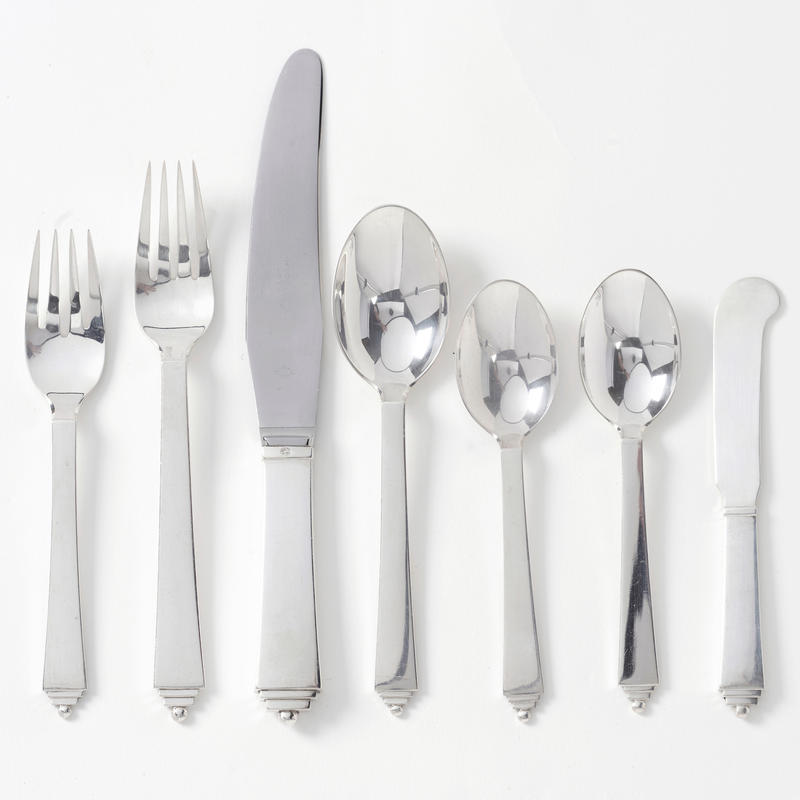 """Pyramid"" Flatware Service for 12"