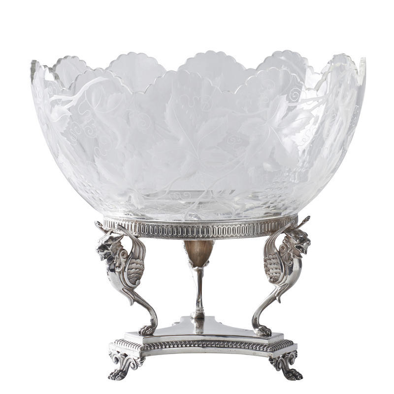 Neoclassical Centerpiece Bowl