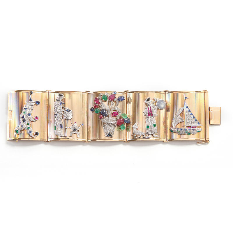 Bracelet with Removable Pins