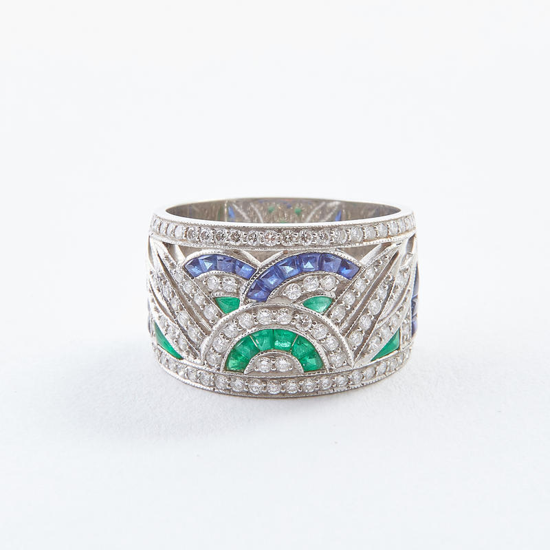 Art Deco Calibr� Ring