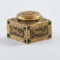 "Arts & Crafts ""Ninth Century&rdquo Inkwell"