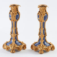 Pair of Louis XV Style Candlesticks