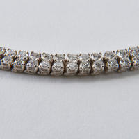 Diamond Double Tennis Bracelet