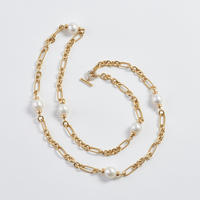 David Yurman Gold & Pearl Necklace
