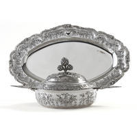 Covered �cuelle & Serving Platter