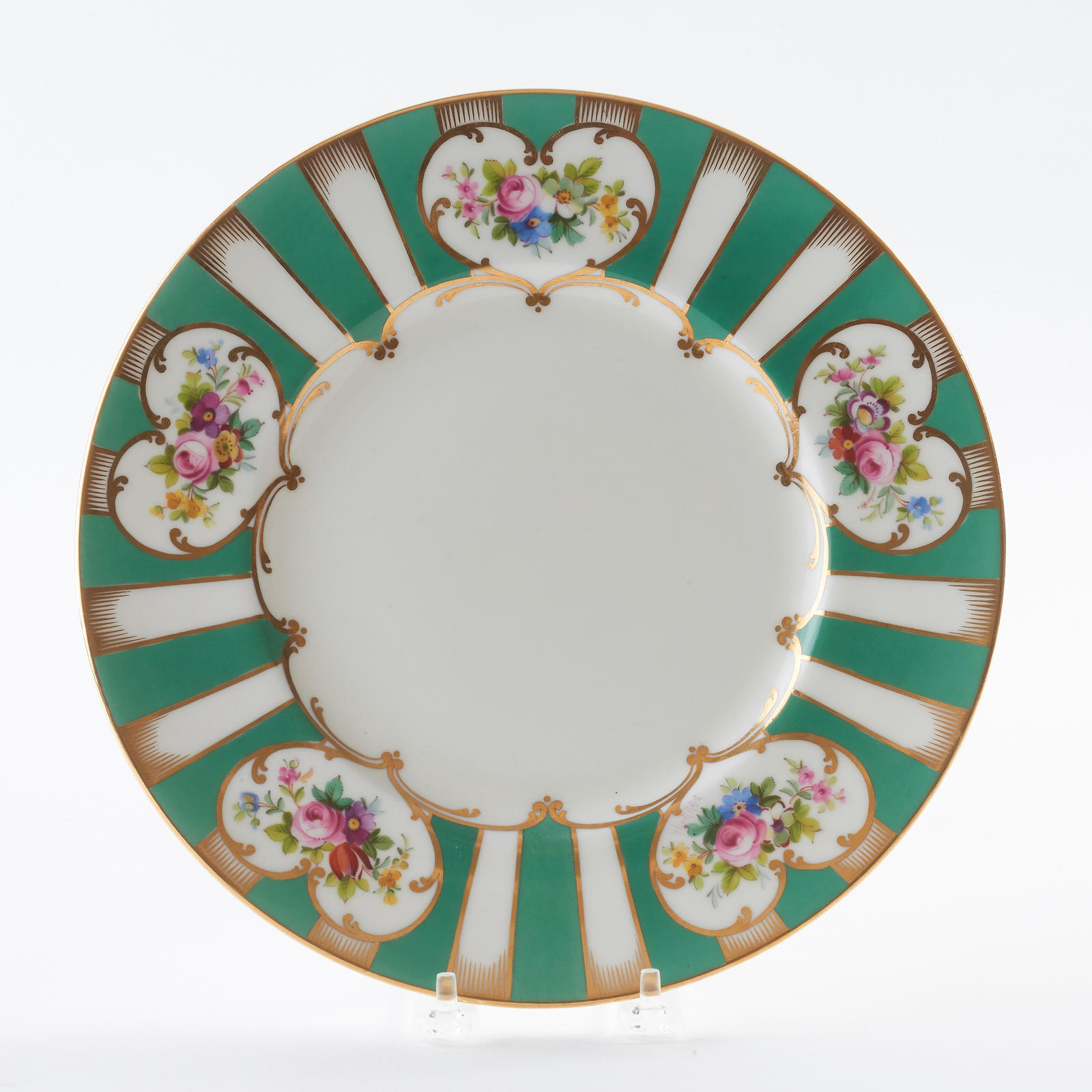 Set of 12 Dinner Plates  sc 1 st  Greenwald Antiques & Set of 12 Dinner Plates - Tableware - Greenwald Antiques