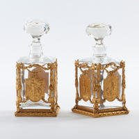 Pair of Cologne Bottles