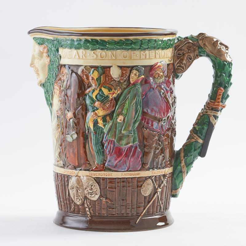Shakespeare Jug