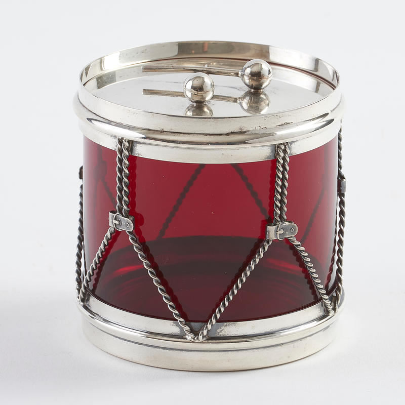 Drum Condiment Pot