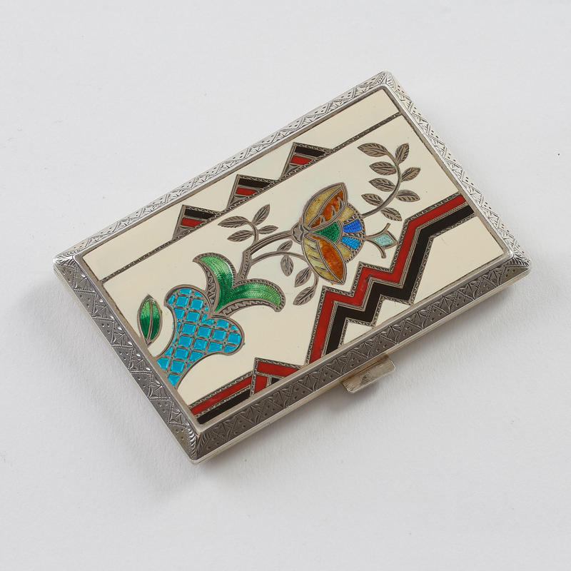 Art Deco Rectangular Compact