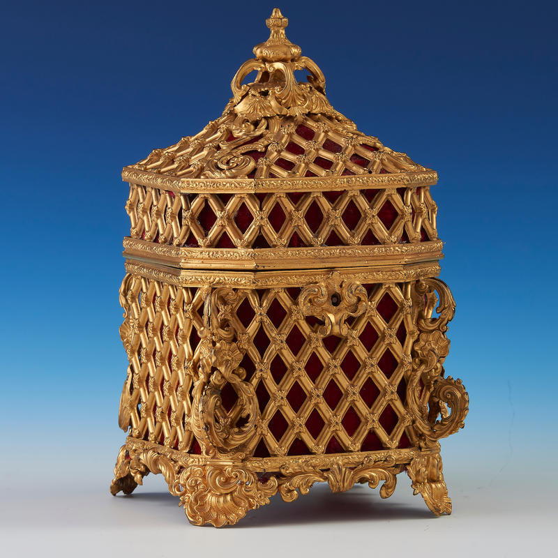 Baroque Revival Casket