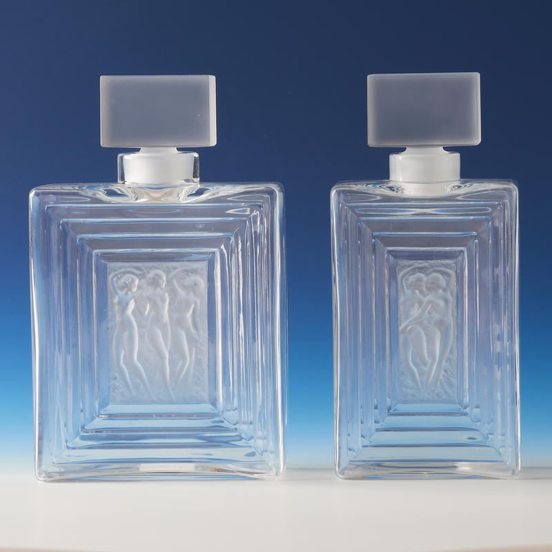"""Duncan"" Cologne Bottles"