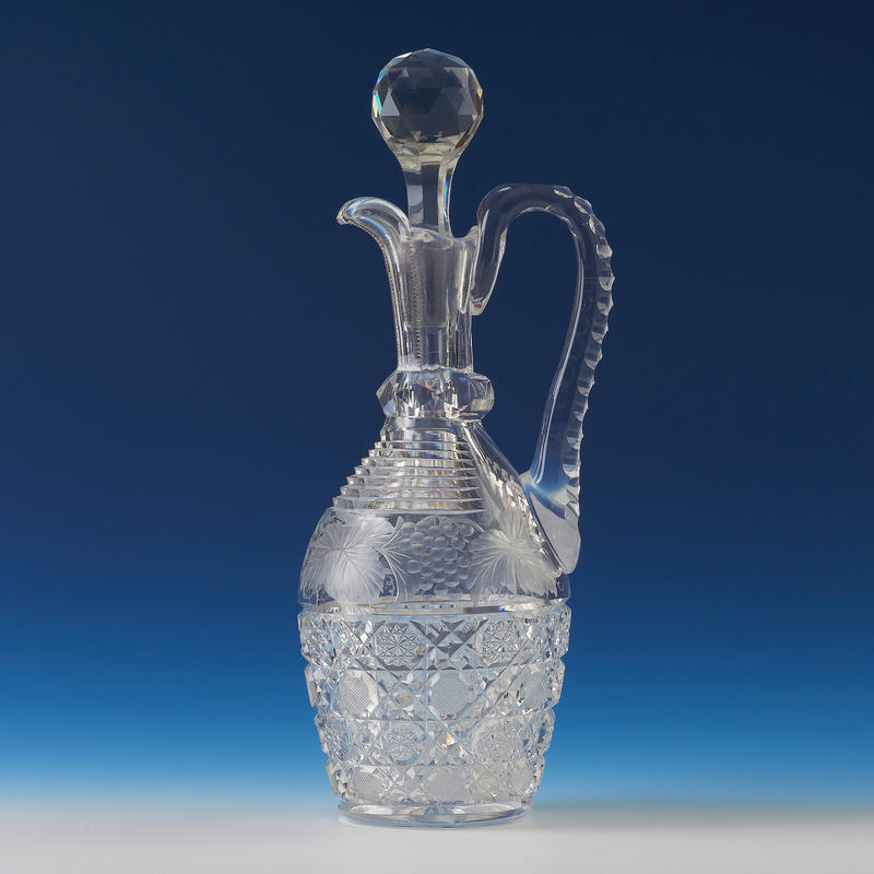 Cut Crystal Wine Decanter