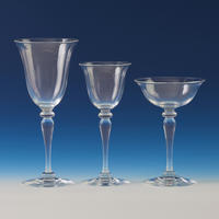 Crystal Stemware for 8 Persons