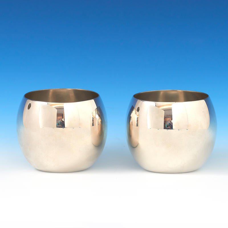 Pair of Jefferson Cups