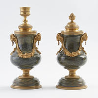 Pair of Candle Vases