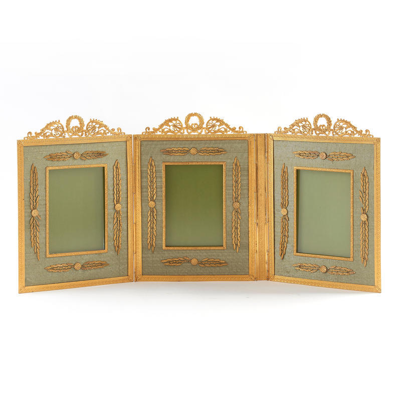 Neoclassical Triple Picture Frame